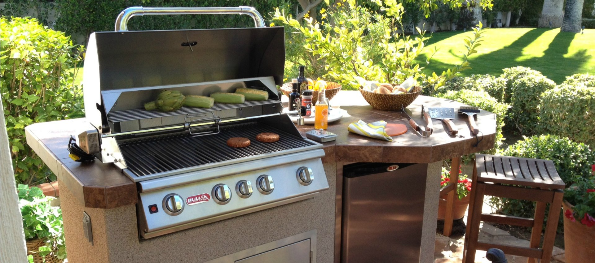 Outdoor Cooking Spaces
