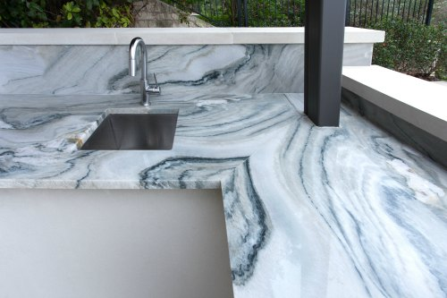 Summer Breeze Outdoor Kitchens What Are The Best Countertops For An Outdoor Kitchen