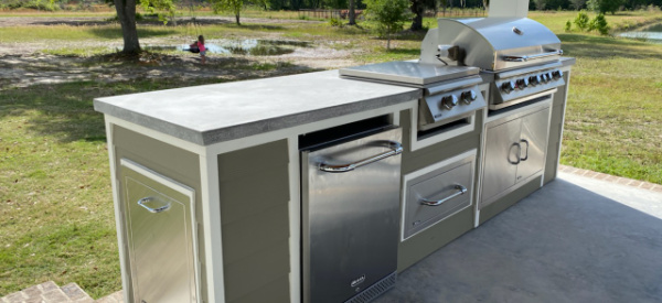 Do you need to extend or update your existing outdoor kitchen