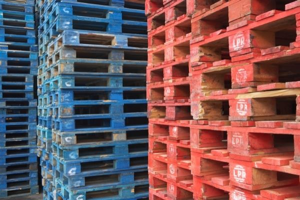 Demand for pallets has risen over the past year