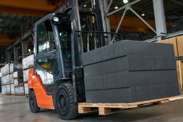 The supply of raw materials to manufacturers who required them